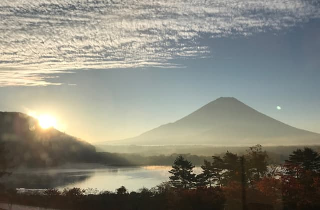 Mt. Fuji from Shojiko